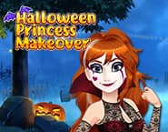 Halloween Princess Makeover