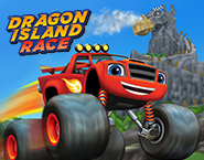 Blaze and Monster Machines: Dragon Island Race