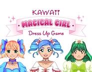 Kawaii Magical Girl Dress Up Game